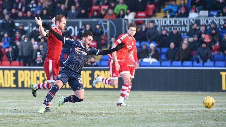 Ross County v Aberdeen