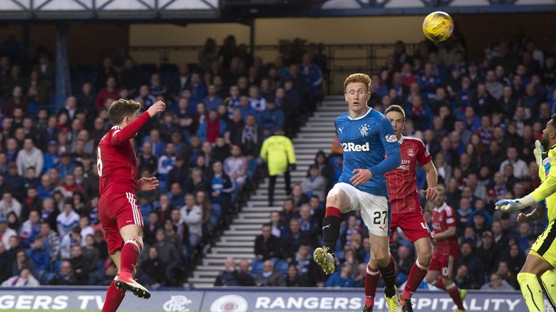 37 | v Rangers | second half