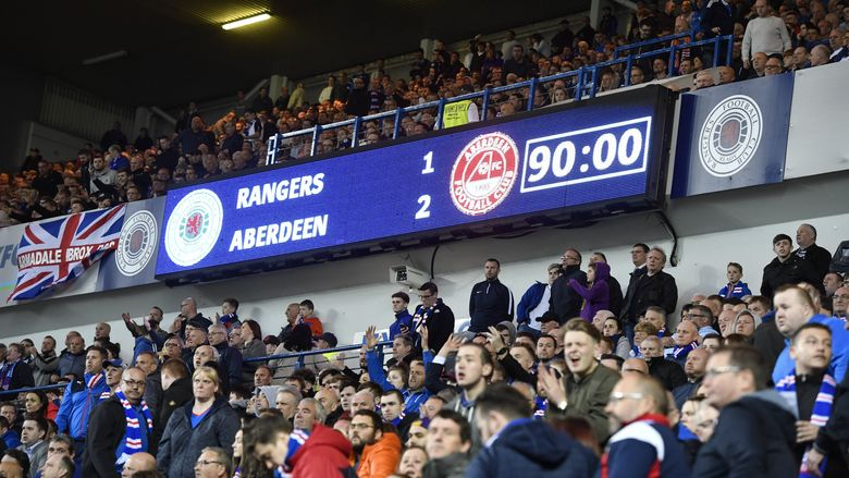 37 | v Rangers | Post Match