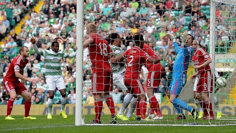 Celtic 2 Aberdeen 1