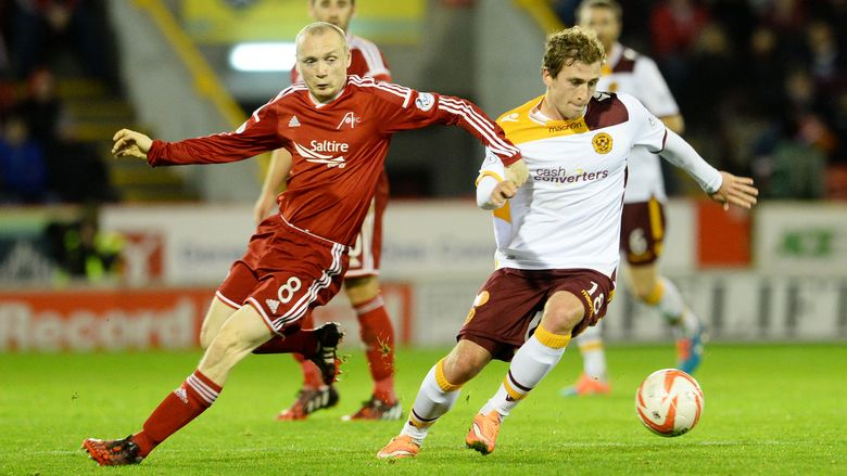 Aberdeen v Motherwell 24 Oct 2014