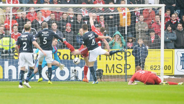 Scottish Cup: Dundee 2 Aberdeen 1