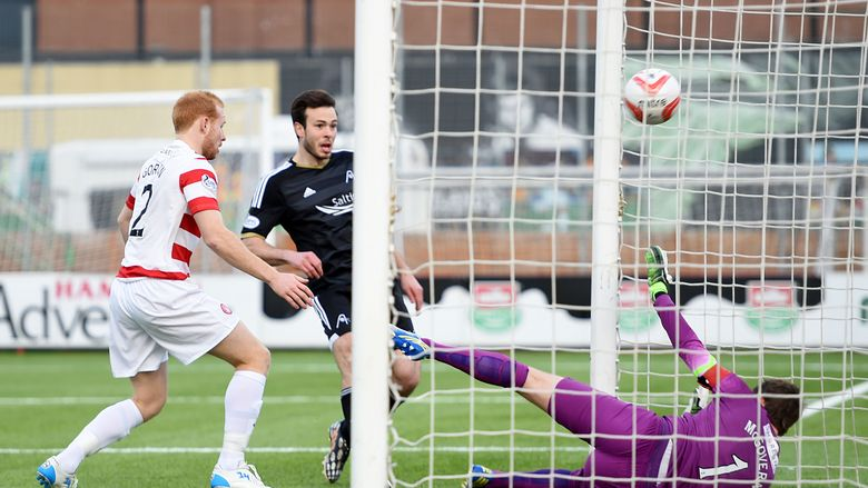 Hamilton Accies 0 Aberdeen 3