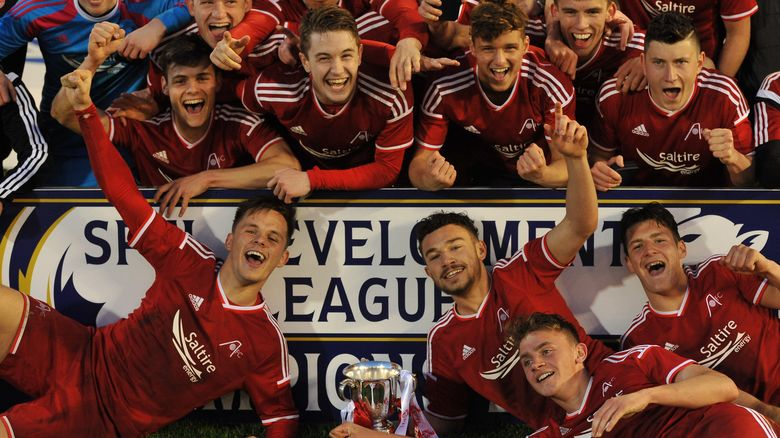 Development League Title Celebrations