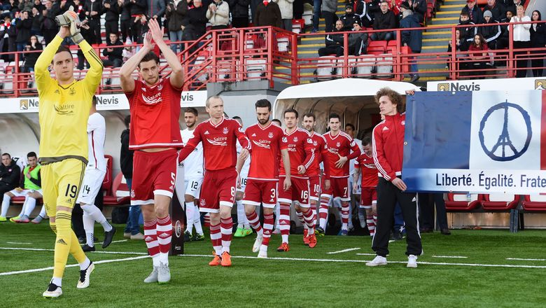 Hamilton Accies 1 Aberdeen 1