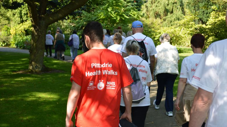 Pittodrie Health Walks