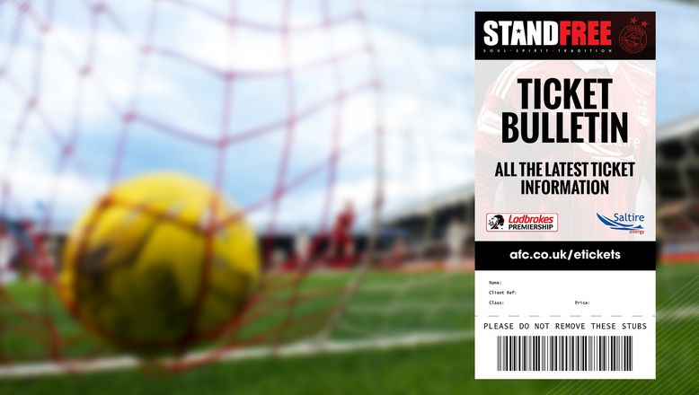 Ticket Bulletin | Wednesday 24th August