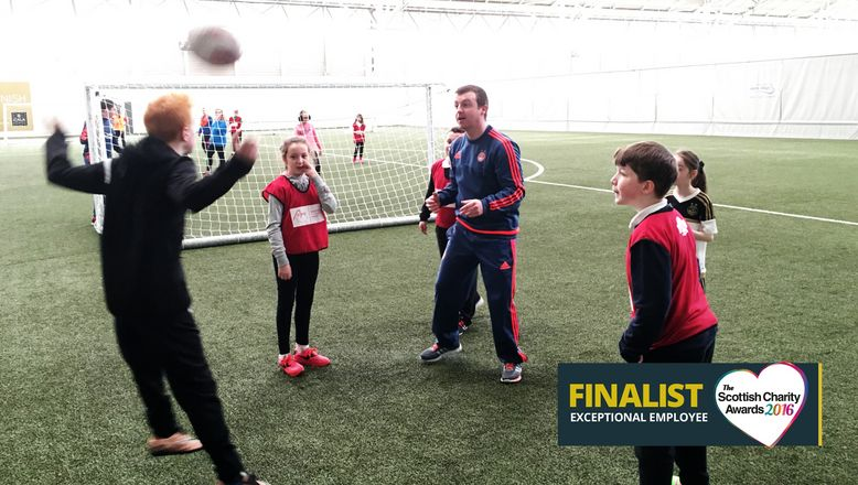 AFCCT's Steven Sweeney named as a finalist in Scottish Charity Awards