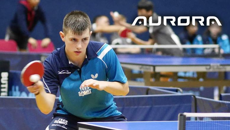 Young table tennis star backs Aurora campaign