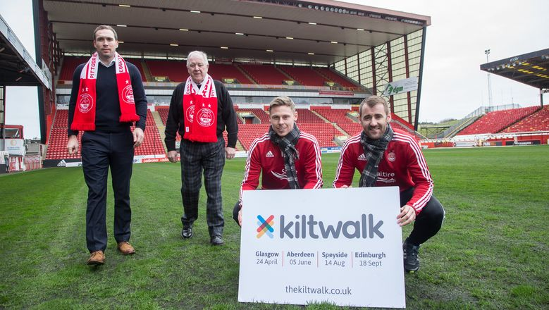 Don your tartan for Kiltwalk and AFC Community Trust