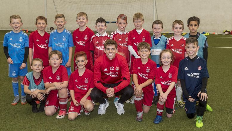 Ryan Christie visits AFCCT participants