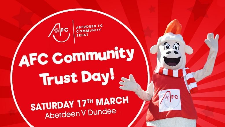 Pittodrie set for 2nd Aberdeen FC Community Trust Day