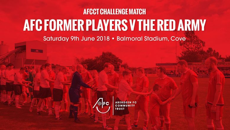 AFC Former Players v The Red Army | Saturday 9th June