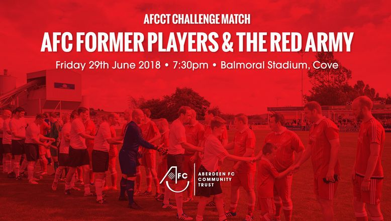 AFC Former Players v The Red Army | Tickets on sale now