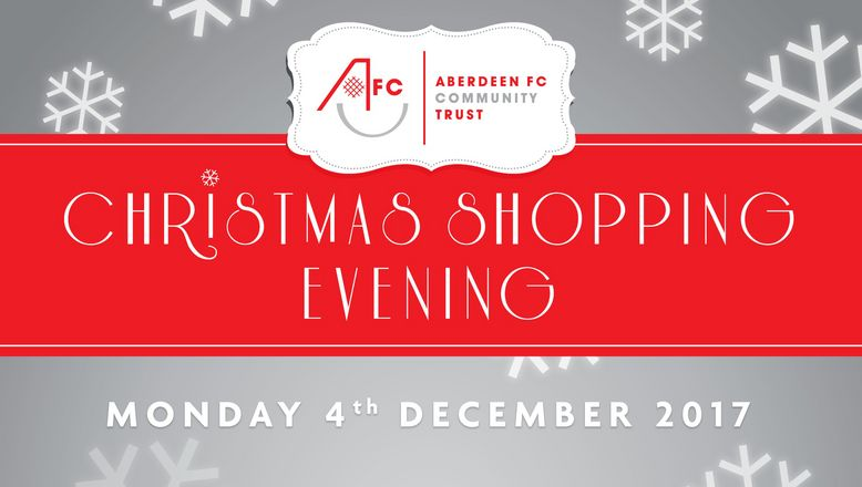Christmas Shopping Evening | Monday 4th December