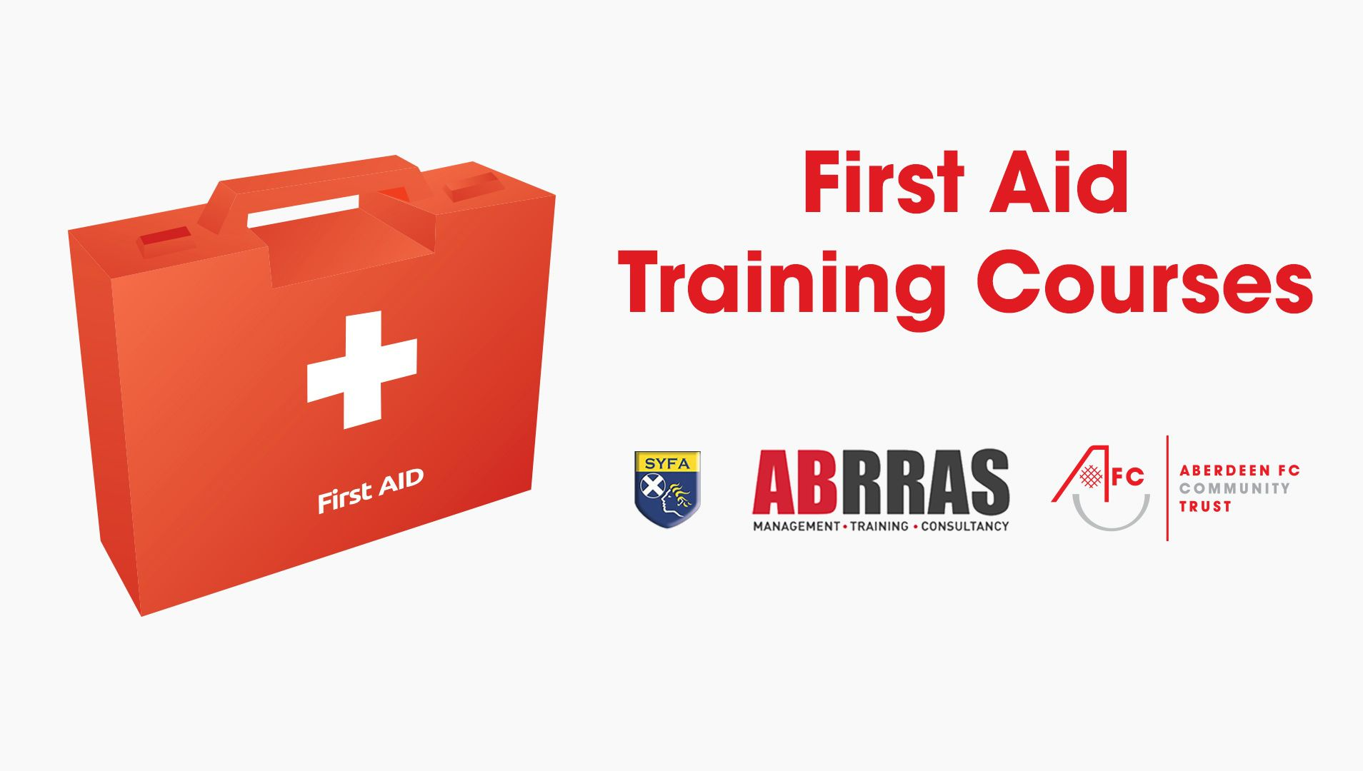First Aid Training with ABRRAS and AFCCT