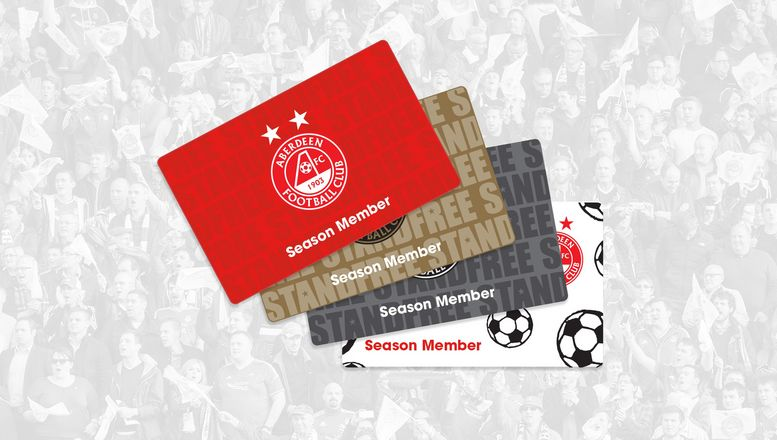 Season Ticket Holder Information: 2017/18 Card Delivery