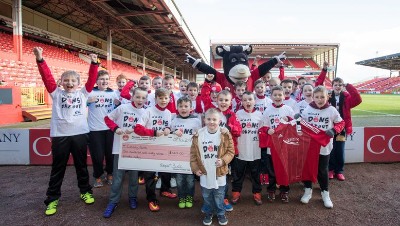 Raise funds through football with Dons Day Out