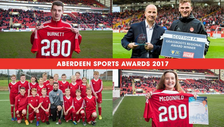 AFCCT volunteers amongst finalists in Aberdeen's Sports Awards 2017