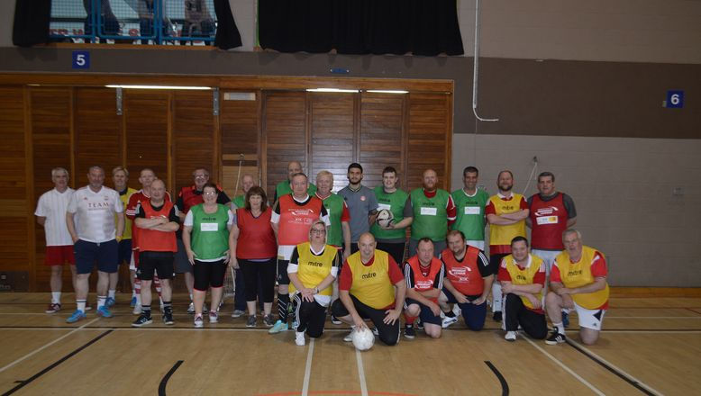Success For Walking Football