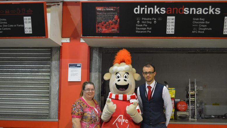 Sodexo to support Aberdeen FC Community Trust through pie sales