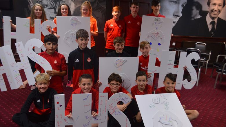 Dons Link up with Children's Parliament