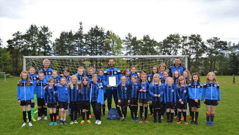 Vattenfall Award of the Month - AFCCT North Region Girls Football League