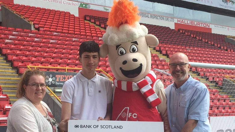 Joe Sutherland Donation to AFCCT