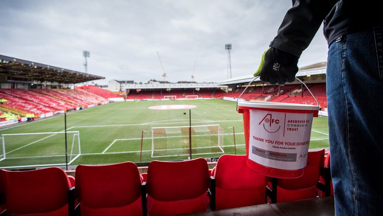 Dons supporters raise almost £17,300 through can collections