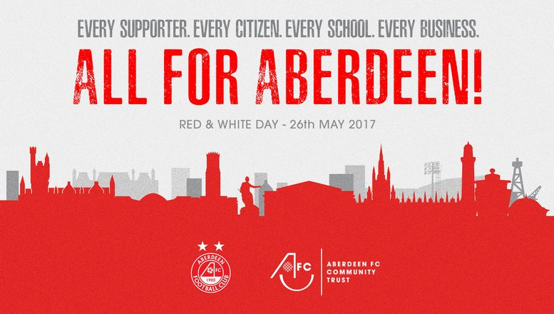 Aberdeen is red & white!