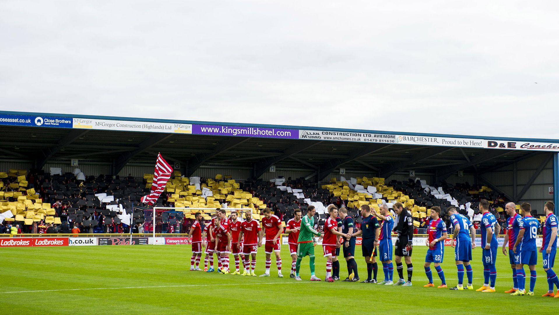 Inverness CT 2 Aberdeen 1 : Aberdeen FC